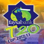 Faysal Bank T20 Cup 2012-13 Matches Schedule and Results