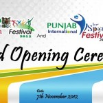 Punjab International Sports Festival 2012 Opening Ceremony Live