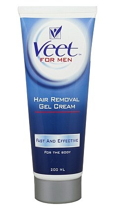 how to use veet hair removal spray