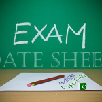 Matric Date Sheet 2014