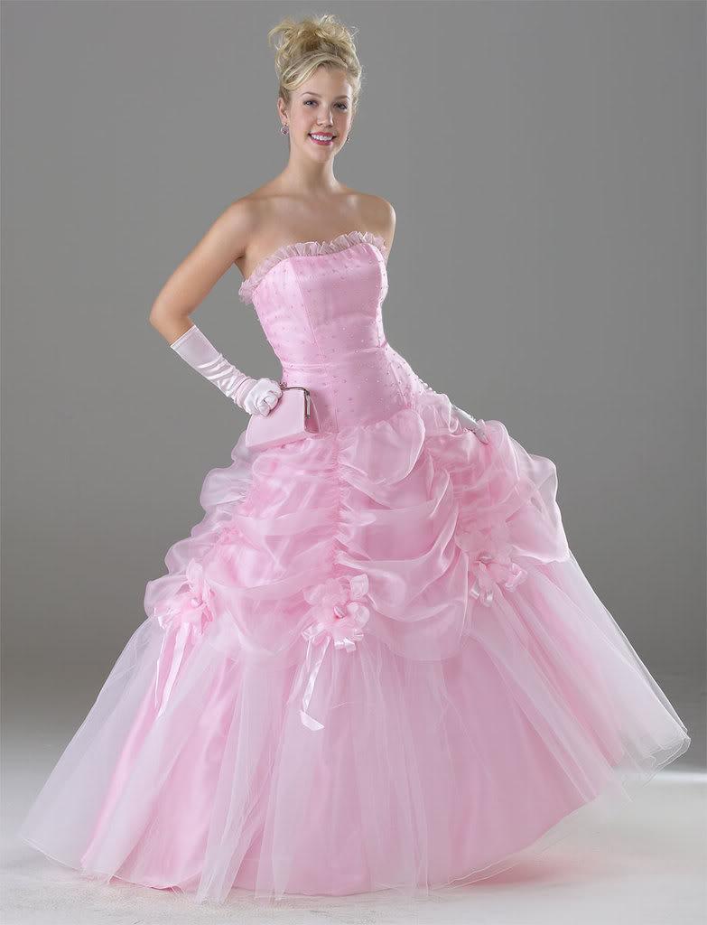 pics pink wedding dresses   Wedding dresses 2013