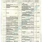 Bise Lahore Datesheet for Matric Annual Exam 2015 Page01