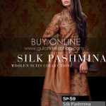 Gul Ahmed Silk Pashmina Dresses