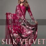 Gul Ahmed Silk Velvet