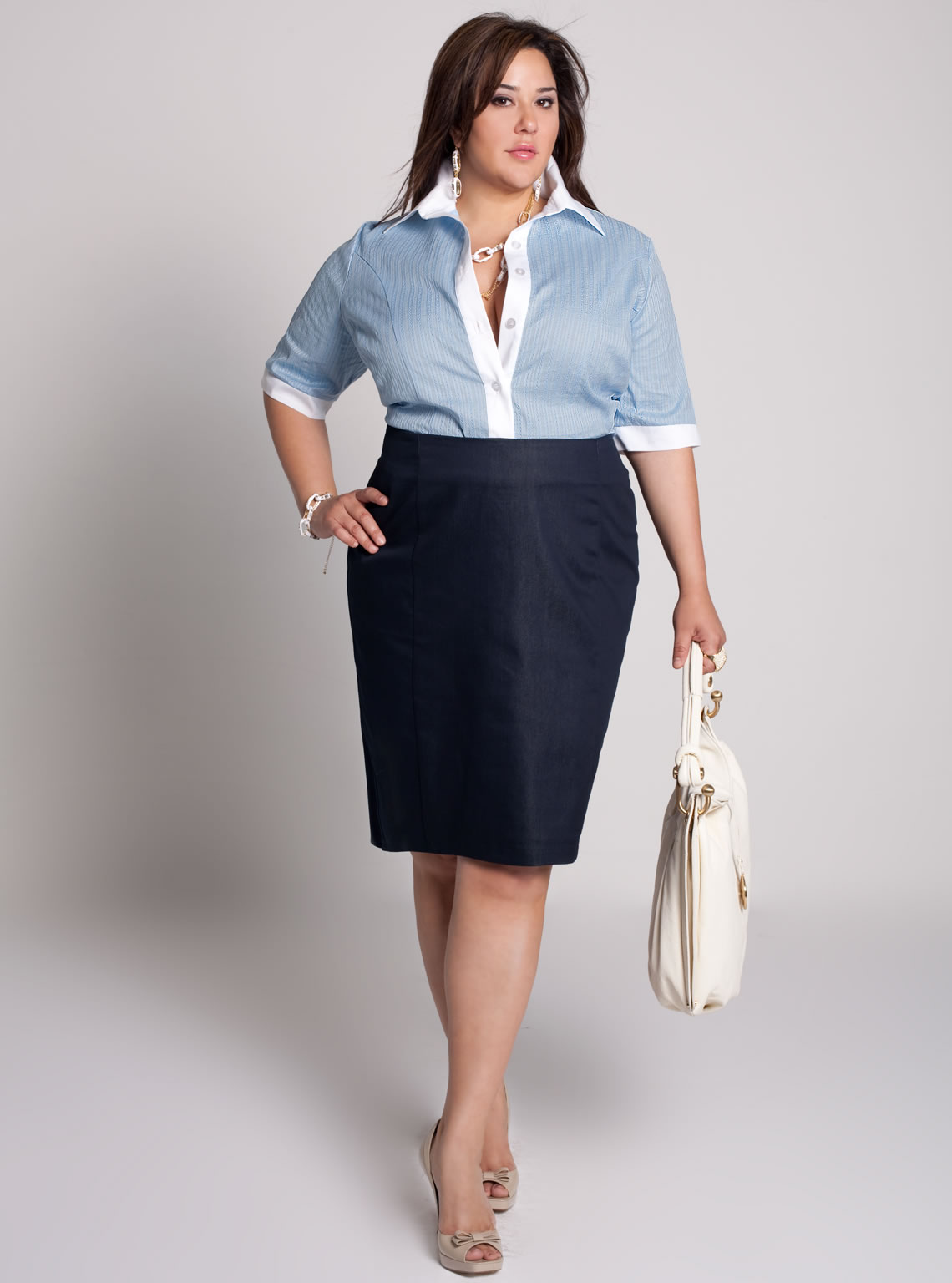 Slimming Fashion For Plus Size