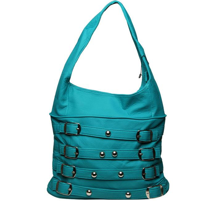 Bata Ladies Handbags Sky Blue Color