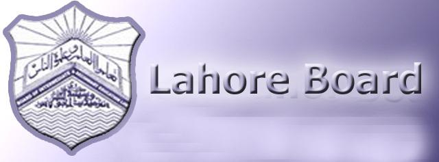 BISE Lahore Board Inter Date Sheet I.Com