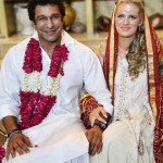 Wasim Akram And Shaniera Wedding In Lahore