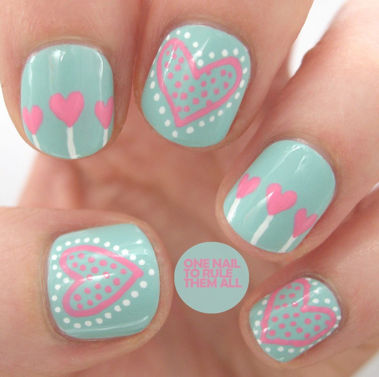 Eid Day Nail Designs For Women And Girls