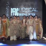 Misha Lakhani Collection in PFDC L'Oreal Bridal Week 2013