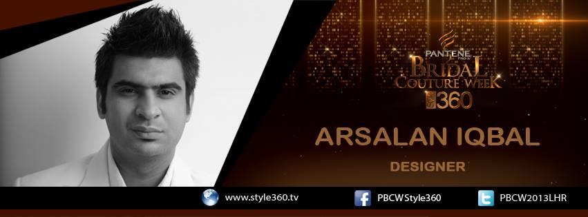 Arsalan Iqbal Bridal Couture Week 2013