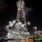 New Year Celebration In Dubai Burj Khalifa 2015