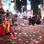 Time Square New Years Countdown 2015