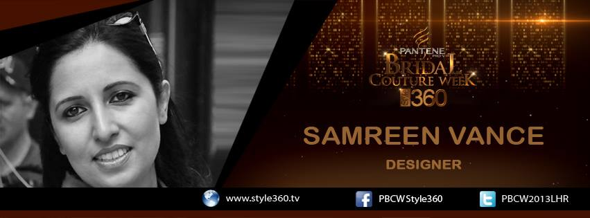 Samreen Closet Bridal Couture Week 2013