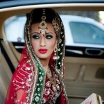 Indian Bridal In Car