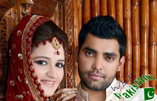 Umar Akmal with Wife Noor Amna
