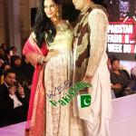 Veena Malik Showstopper at Pakistan Fashion Week Dubai 2014