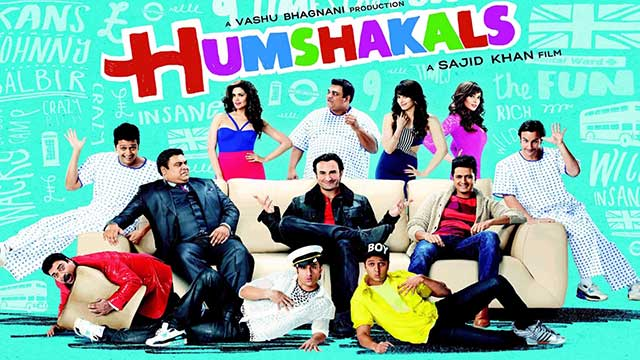 Humshakals Cover Title Poster