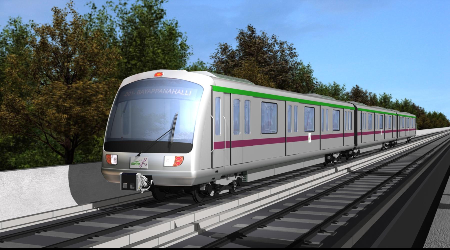 Metro Train In Lahore