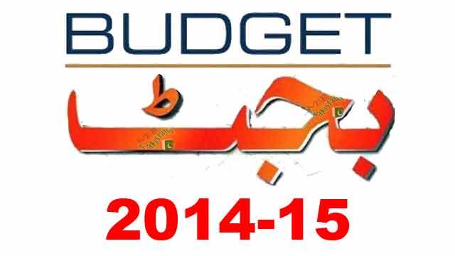 Pakistan-Budget 2014 -15