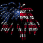 4th July Independence Day Fireworks Celebration All Over America
