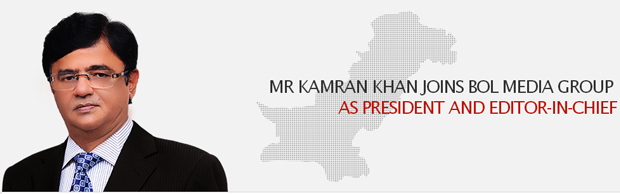 Kamran Khan Joins as President and Editor-in-Chief, BOL Media Group