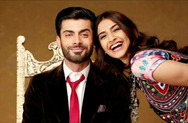 Sonam Kapoor and Fawad Khan in 'Khoobsurat'