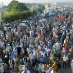 Police Clash With PTI and PAT Workers Pictures