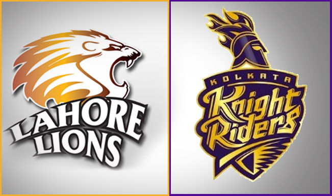 Kolkata Knight Riders vs Lahore Lions