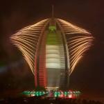 Amazing Burj Al Arab New Year Eve Firework