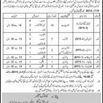 GHQ Rawalpindi Jobs 2014 Lady Telephone Operators, Linemen, Driver