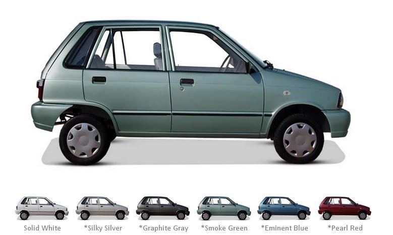 Suzuki Mehran Euro II Model 2015