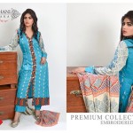 Ghani Textile Premium Collection Embroidered Linen