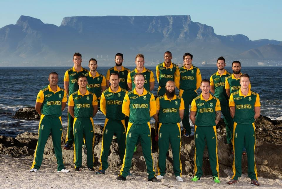 South Africa Team For ICC World Cup 2015