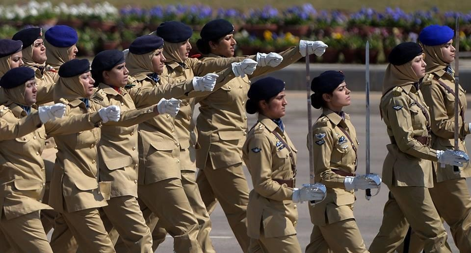 Pak Army Lady Officers