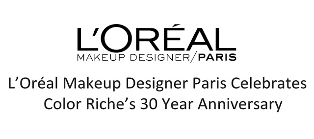 Loreal Paris Color Riche Anniversary