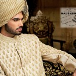 Nauman Arfeen Fancy Sherwani Wear Collection 2015 for Groom