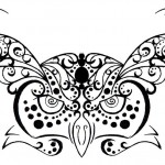 Owl Henna Tattoo Design