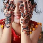 Special Kids Mehndi Designs