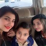 Javeria Saud Children Exclusive Pictures