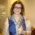 President of HUM TV Network Sultana Siddiqui