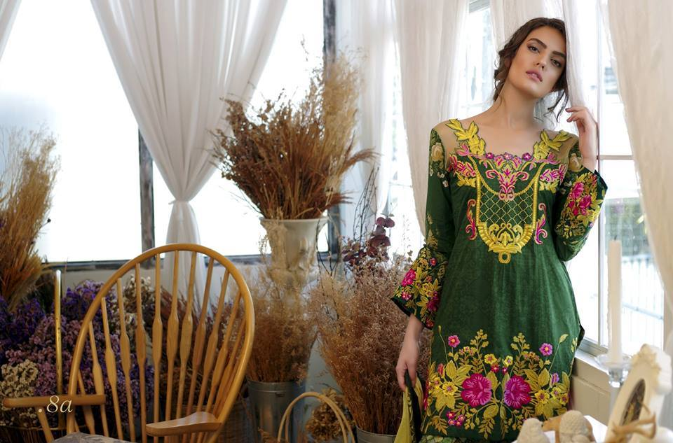 Tabassum Mughal Lawn Collections 2016 For Women